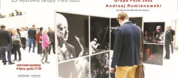 25 wystawa Grupy Foto Jazz i 107 wystawa Muzeum Jazzu, podczas Jazzowych Warsztatów w Puławach