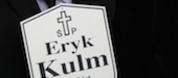 Eryk Kulm, pożegnanie