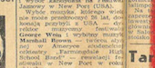 35 – 1958 Tymczasem wNewport