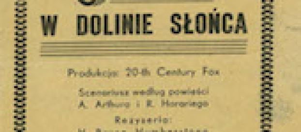 5. 1947 Serenada wDolinie Słońca