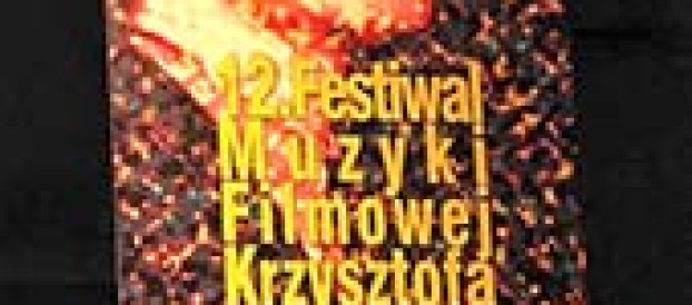 12. Festiwal Muzyki Filmowej Krzysztofa Komedy. Warszawa,<br>26-28września2021