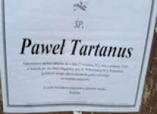 Paweł Tartanus. Ostatnie pożegnanie