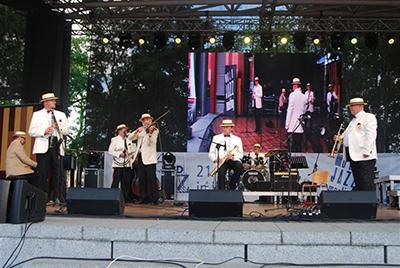 New Market Jazz Band - Złota Tarka Zespołowa - fot. A. Mikulski