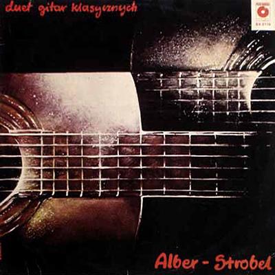 Plyta duetu Alber-Strobel z 1981 r